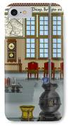 Waiting Room At The Depot IPhone Case
