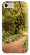 Walk Into The Forest IPhone Case by Carol Groenen