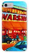Warshaws Fruitstore On Main Street IPhone Case