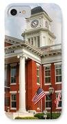 Washington County Courthouse IPhone Case by Kristin Elmquist