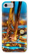 Water And Oil IPhone Case by Setsiri Silapasuwanchai
