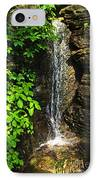 Waterfall In Forest IPhone Case by Elena Elisseeva
