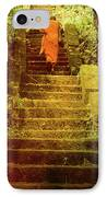 Way To Buddha's Temple IPhone Case