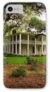 Wesley House IPhone Case by Sandy Keeton