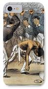 West Point Cartoon, 1880 IPhone Case by Granger