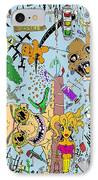 What A Mess Color IPhone Case by Jack Norton