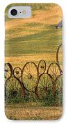 Wheels Of The Palouse IPhone Case