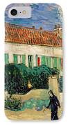 White House At Night IPhone Case by Vincent Van Gogh