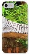 White Tiger IPhone Case by MotHaiBaPhoto Prints