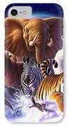 Wild World IPhone Case by Jerry LoFaro
