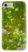 Wildflower Field IPhone Case