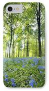 Wildflowers In A Forest Of Trees IPhone Case