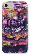 Wind And Waves IPhone Case by Carol  Law Conklin