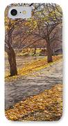 Windswept Walk IPhone Case by Susan Cole Kelly