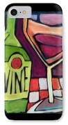Wine Squared IPhone Case