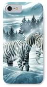 Winter Deuces IPhone Case