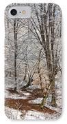 Winter Forest IPhone Case by Gabriela Insuratelu