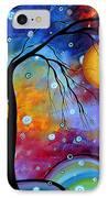 Winter Sparkle By Madart IPhone Case by Megan Duncanson