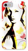 Wistful Flutter IPhone Case