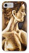 Woman IPhone Case by Thomas Valentine