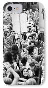 Womens Lib, 1971 IPhone Case by Granger