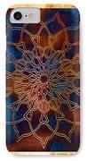 Wooden Mandala IPhone Case by Hakon Soreide