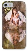 Woodland Fairy IPhone Case by Cindy Singleton