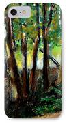 Woodland Trail IPhone Case by Michelle Calkins
