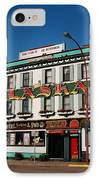 World Famous Alaska Hotel IPhone Case by Juergen Weiss