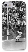 World Series, 1955 IPhone Case by Granger