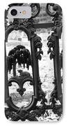 Wrought Iron Gate -west Epping Nh Usa IPhone Case