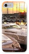 Yacht Marina IPhone Case by Carlos Caetano