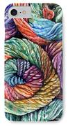 Yarn IPhone Case by Nadi Spencer