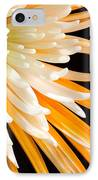Yellow Flower On Black IPhone Case