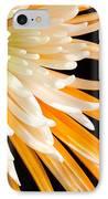 Yellow Flower On Black IPhone Case