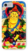 Yellow Jambhala 4 IPhone Case