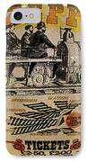 Zeppelin Express Work B IPhone Case by David Lee Thompson