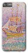 Harbour At Marseilles IPhone 7 Plus Case by Paul Signac
