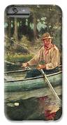 Man And Woman Fishing IPhone 7 Plus Case by JQ Licensing