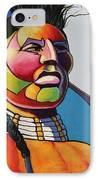 Indian Portrait IPhone Case