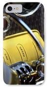 1937 Cord 812 Phaeton Controls IPhone Case
