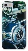 1965 Shelby Prototype Ford Mustang Steering Wheel Emblem 2 IPhone Case