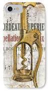 Bordeaux Blanc 2 IPhone Case