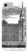 New Jersey Church, 1844 IPhone Case