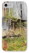 Old Barn In Fall Maine IPhone Case