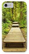 Path In Temperate Rainforest IPhone Case