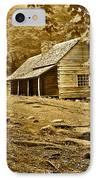 Smoky Mountain Cabin IPhone Case