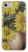 Sunshine And Sunflowers IPhone Case