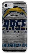 San Diego Chargers IPhone 8 Case by Joe Hamilton