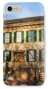 Abraham Lincoln Home In Springfield Illinois IPhone Case